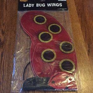 Spirits lady bug iwings Adult costume accessories